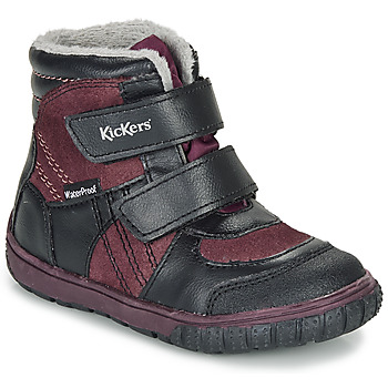 Shoes Children Snow boots Kickers SITROUILLE WPF Black / Violet