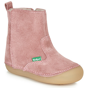 Shoes Girl Boots Kickers SOCOOL Pink
