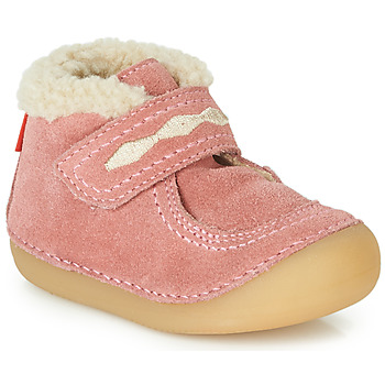 Shoes Girl Mid boots Kickers SOETNIC Pink