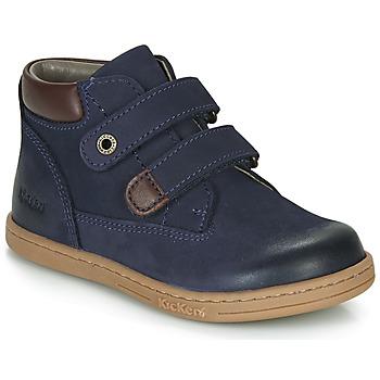 Shoes Boy Mid boots Kickers TACKEASY Marine