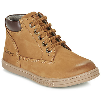 Shoes Boy Mid boots Kickers TACKLAND Camel