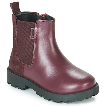 Shoes Girl Mid boots Kickers GRIZLY Violet