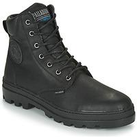 Shoes Men Mid boots Palladium PALLABOSSE SC WP Black