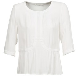 material Women Blouses See U Soon CABRILA White