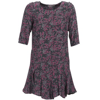 material Women Short Dresses See U Soon BOETICO Black / Violet