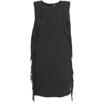 material Women Short Dresses See U Soon LOUBIRA Black
