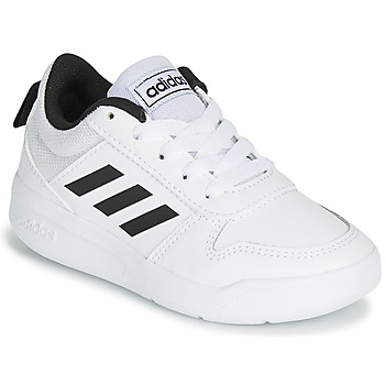 Shoes Children Low top trainers adidas Performance VECTOR K White / Black
