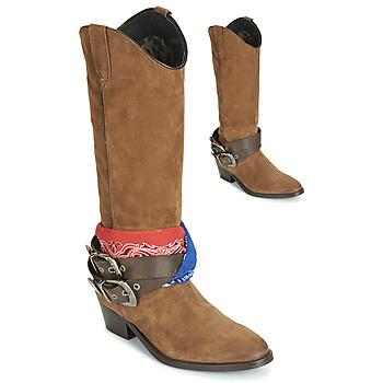 Shoes Women Boots Replay FRUITLAND Camel