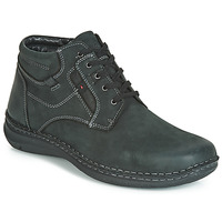 Shoes Men Mid boots Josef Seibel ANVERS 35 Black