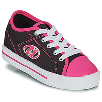 Shoes Girl Wheeled shoes Heelys CLASSIC X2 Black / Pink