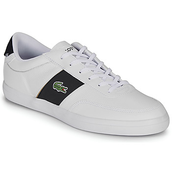 Shoes Men Low top trainers Lacoste COURT-MASTER 319 6 CMA White / Black