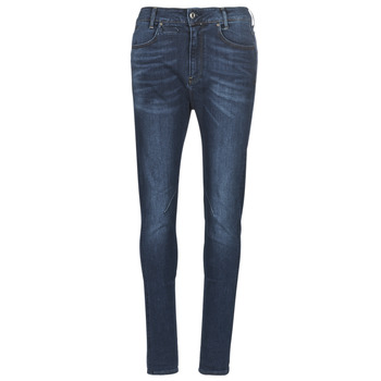 material Women slim jeans G-Star Raw D-STAQ MID BOY SLIM Blue / Faded / Medium / Aged