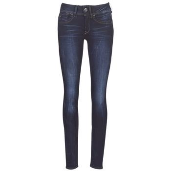 material Women Skinny jeans G-Star Raw LYNN MID SKINNY WMN Blue / Faded / Blue