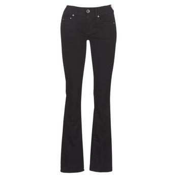 material Women bootcut jeans G-Star Raw MIDGE MID BOOTCUT WMN Black