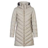 material Women Duffel coats G-Star Raw WHISTLER SLIM DOWN HDD LONG COAT WMN Beige