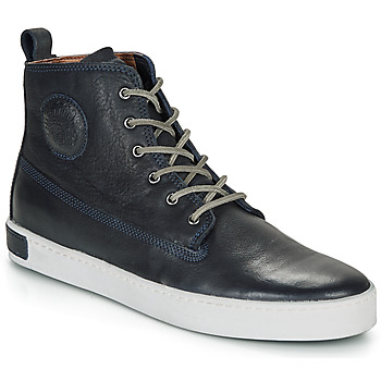 Shoes Men High top trainers Blackstone AM02 Marine