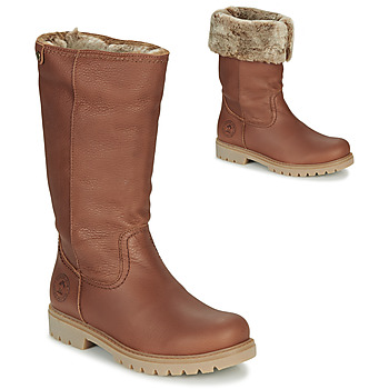Shoes Women Boots Panama Jack BAMBINA Brown