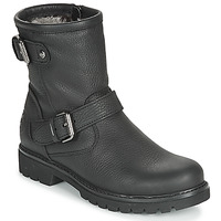 Shoes Women Mid boots Panama Jack FELINA Black