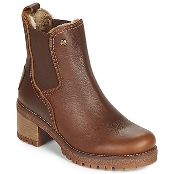 Shoes Women Mid boots Panama Jack PIA Brown
