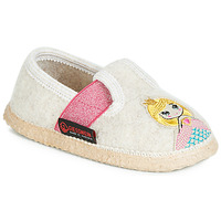 Shoes Girl Slippers Giesswein THURNAU Beige