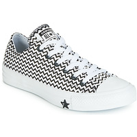 Shoes Women Low top trainers Converse CHUCK TAYLOR ALL STAR VLTG LEATHER OX White / Black