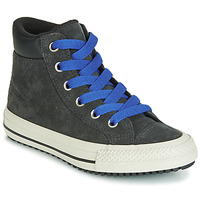 Shoes Children High top trainers Converse CHUCK TAYLOR ALL STAR PC BOOT BOOTS ON MARS SUEDE HI Black / Blue