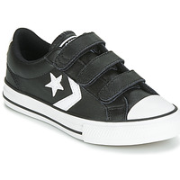 Shoes Children Low top trainers Converse STAR PLAYER EV 3V  LEATHER OX Black