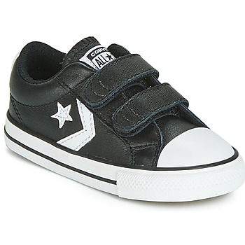 Shoes Children Low top trainers Converse STAR PLAYER EV 2V  LEATHER OX Black