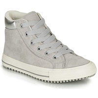 Shoes Girl High top trainers Converse CHUCK TAYLOR ALL STAR PC BOOT HI Grey