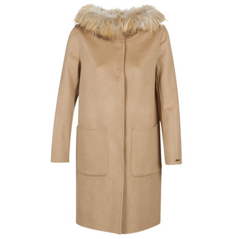 material Women coats Oakwood YALE BI Camel / Grey