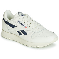 Shoes Low top trainers Reebok Classic CL LEATHER MU White / Black