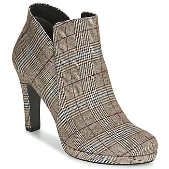 Shoes Women Ankle boots Tamaris LYCORIS Tartan