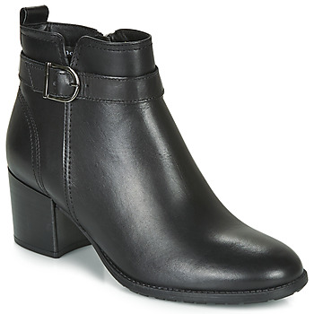 Shoes Women Ankle boots Tamaris PAULA Black