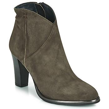 Shoes Women Ankle boots Myma PELMA Kaki