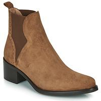 Shoes Women Ankle boots Myma PALMA Cognac