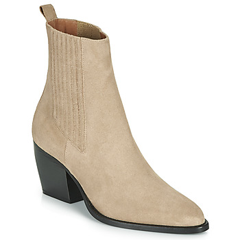 Shoes Women Ankle boots Jonak DOCTIR Taupe
