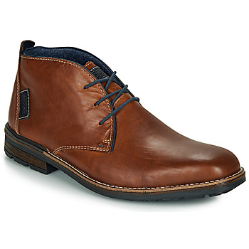 Shoes Men Mid boots Rieker F1310-26 Brown