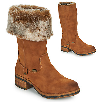 Shoes Women Boots Rieker 96854-26 Camel