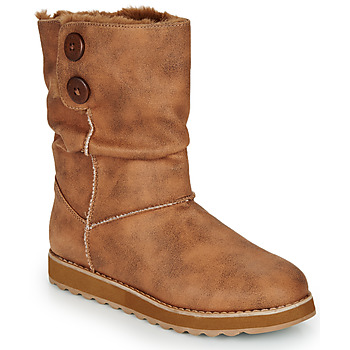 Shoes Women Mid boots Skechers KEEPSAKES 2.0 Camel