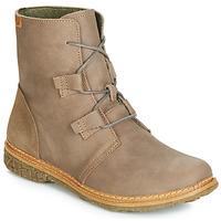 Shoes Women Mid boots El Naturalista ANGKOR Grey