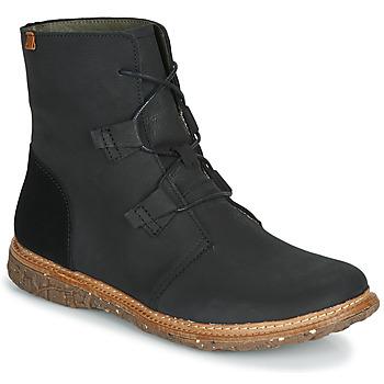 Shoes Women Mid boots El Naturalista ANGKOR Black