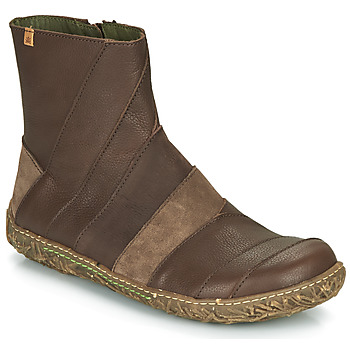 Shoes Women Mid boots El Naturalista NIDO Brown