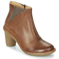 Shoes Women Boots El Naturalista TRIVIA Brown