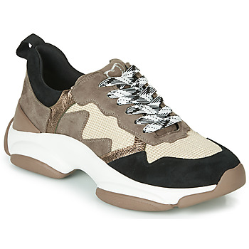 Shoes Women Low top trainers Mam'Zelle HELIUM Taupe / Beige