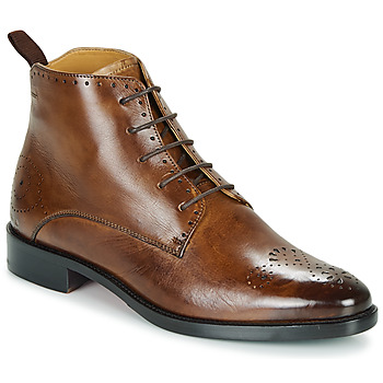 Shoes Women Mid boots Melvin & Hamilton BETTYS Brown