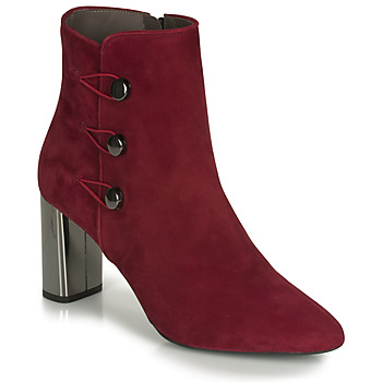 Shoes Women Ankle boots Perlato 11312-CAM-ROUGE Red