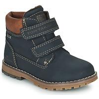 Shoes Boy Mid boots Tom Tailor 73003-BLEU Blue
