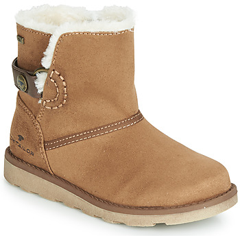 Shoes Girl Mid boots Tom Tailor  Camel