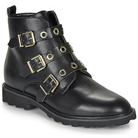 Shoes Women Mid boots Moony Mood FIZANE Black