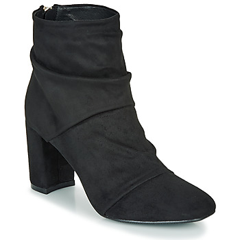 Shoes Women Ankle boots Moony Mood FIRETTE Black